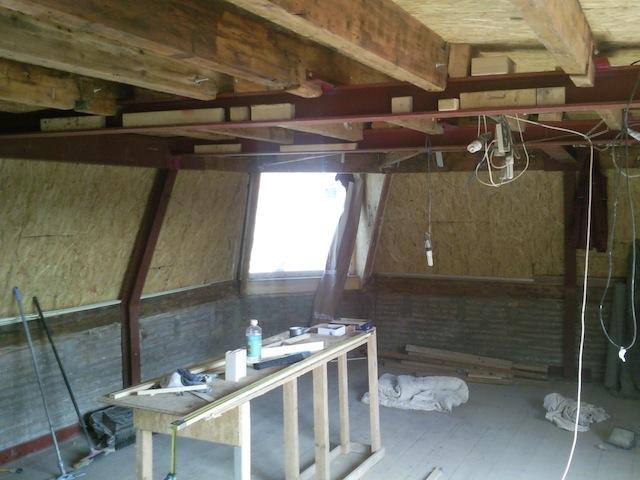 Vredenburg staal ipv hout 300 bouwkundig bureau cladder